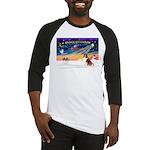 XmasSunrise/Sheltie #7 Baseball Jersey