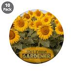 "Extreme Gardener 3.5"" Button (10 pack)"