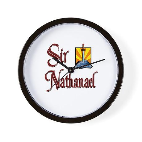 Sir Nathanael Wall Clock