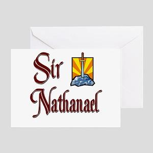 Sir Nathanael Greeting Card