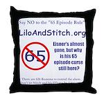 SLS Throw Pillow
