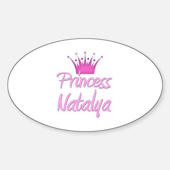 Princess Natalya Oval Decal