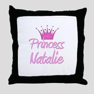 Princess Natalie Throw Pillow