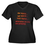 One Tequila, Two Tequila, etc Women's Plus Size V-