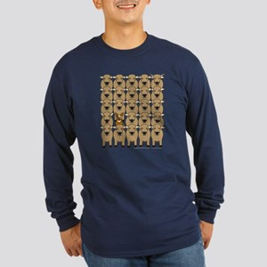 ACD and Cattle Long Sleeve Dark T-Shirt