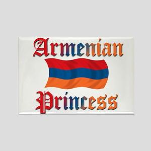 Armenian Princess 2 Rectangle Magnet
