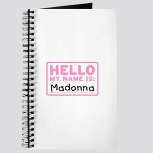 Hello My Name Is: Madonna - Journal