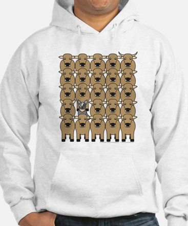 ACD and Cattle Hoodie