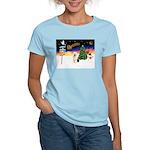 XmasSigns/Old English #3 Women's Light T-Shirt