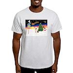 XmasSigns/Old English #3 Light T-Shirt