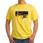 XmasSigns/Old English #3 Yellow T-Shirt