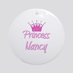 Princess Nancy Ornament (Round)