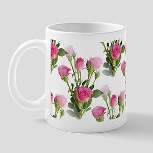 Beautiful Pink Roses Mug