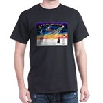 XmasSunrise/Min Pinscher Dark T-Shirt