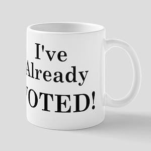 Already VOTED! Mug