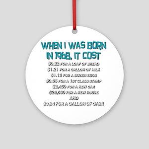 Price Check 1968 Ornament (Round)