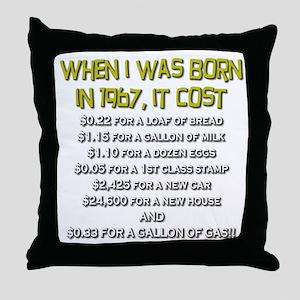 Price Check 1967 Throw Pillow