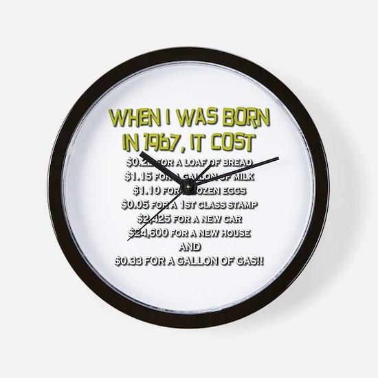Price Check 1967 Wall Clock