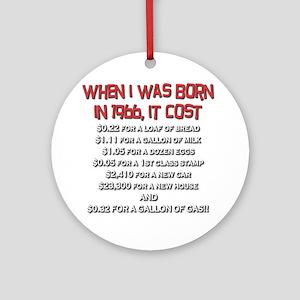 Price Check 1966 Ornament (Round)