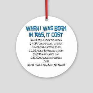 Price Check 1965 Ornament (Round)