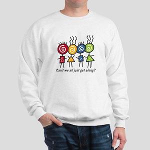 Let's Get Along Sweatshirt