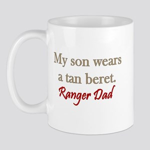 Ranger Dad - tan beret Mug