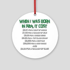 Price Check 1964 Ornament (Round)