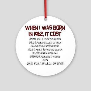 Price Check 1962 Ornament (Round)