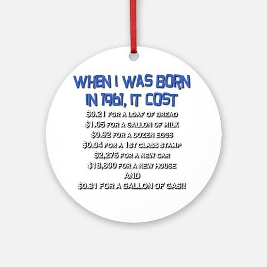 Price Check 1961 Ornament (Round)