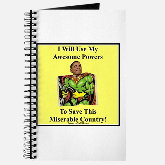 """Awesome Powers"" Journal"
