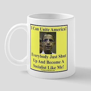 """""""Unite America?"""" Mug"""