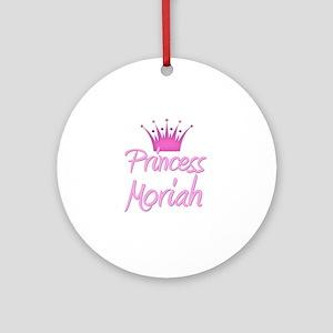 Princess Moriah Ornament (Round)