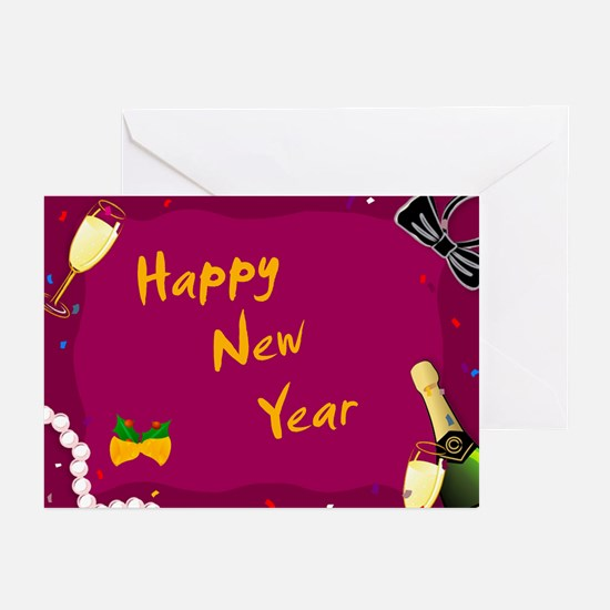Cool Happynewyear Greeting Cards (Pk of 10)