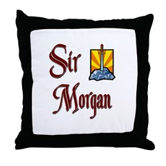 Sir Morgan Throw Pillow