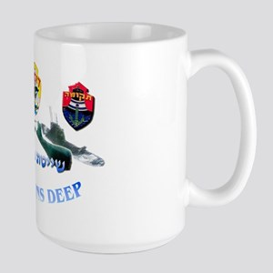Dolphin Class Large Mug