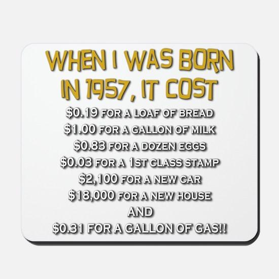 Price Check 1957 Mousepad