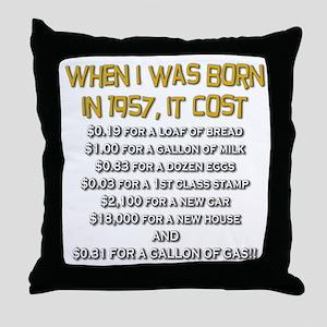 Price Check 1957 Throw Pillow
