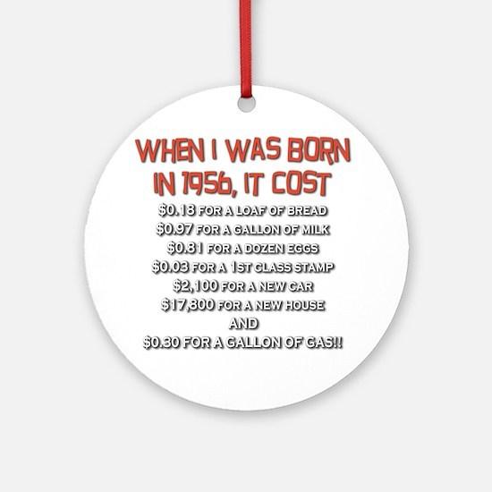 Price Check 1956 Ornament (Round)