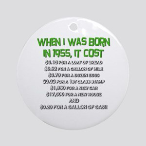 Price Check 1955 Ornament (Round)