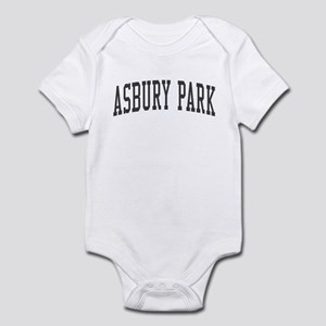 Asbury Park New Jersey NJ Black Infant Bodysuit