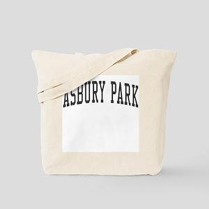 Asbury Park New Jersey NJ Black Tote Bag