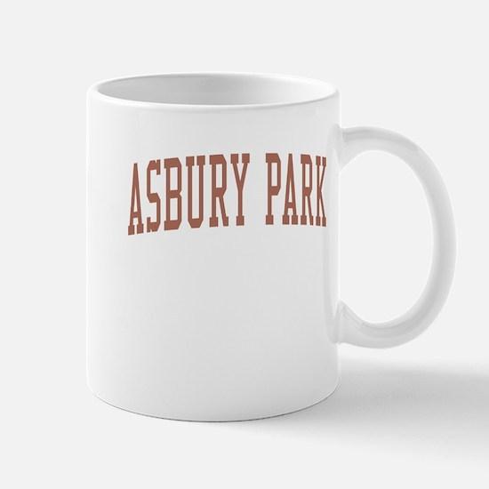 Asbury Park New Jersey NJ Red Mug