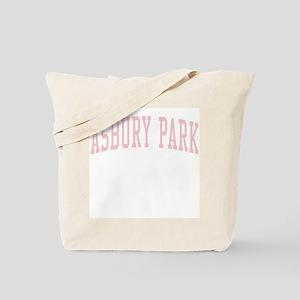 Asbury Park New Jersey NJ Pink Tote Bag