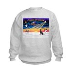 XmasSunrise/Manchester T Kids Sweatshirt