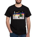 XmasSigns/Lab (choc) Dark T-Shirt