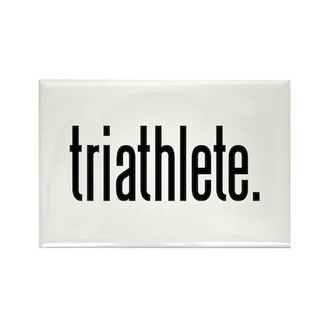 triathlete Rectangle Magnet