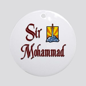 Sir Mohammad Ornament (Round)