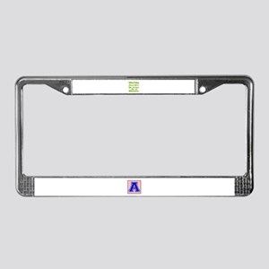 Without Drinking Sangria Wine License Plate Frame
