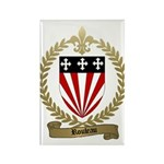 ROULEAU Family Crest Rectangle Magnet (10 pack)