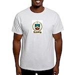 ROUSSEL Family Crest Ash Grey T-Shirt